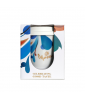 Pahar ceramica coffee TO GO MORRA 330 ml+Capac silicon alb