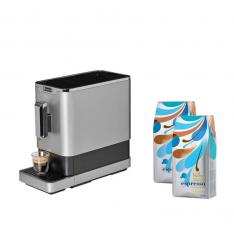 PACHET PROMO-Espressor automat cu rasnita incorporata DIVA DE LUXE +2 Morra Espresso cafea boabe 1kg
