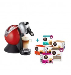 PACHET PROMO: 12 Cutii capsule Nescafe Dolce Gusto + CADOU 1 Aparat capsule Dolce Gusto KRUPS