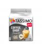 Capsule cafea Tassimo Coffee Shop Flat White, 16 capsule, 8 bauturi, 220g