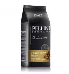 Pellini Gran Aroma, cafea boabe 100 % Arabica - 1 kg