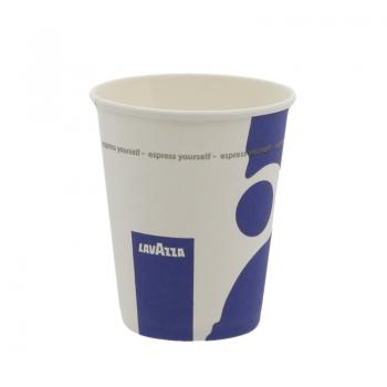 Pahare de carton Lavazza 150 ml - 100 bucati
