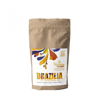 Morra Origini Brasilia Santos Strictly Soft Fine Cup, cafea proaspat prajita 250 g