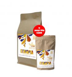PACHET PROMO:1kg Morra Origini-Ethiopia Kayon Mountain Organic-cafea proaspat prajita +100 g Morra Origini Ethiopia Kayon