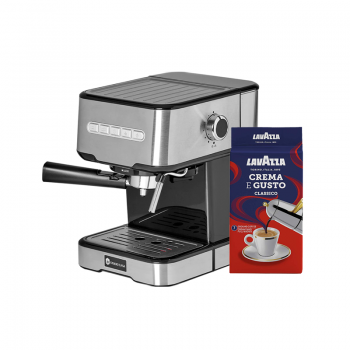 PACHET PROMO Espressor Studio Casa Espresso MIO SC 2001+CADOU 1 x cafea macinata 250g, Lavazza Crema e Gusto