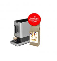 PACHET PROMO - Espressor automat DIVA DE LUXE +1 Morra Origini Ethiopia Kayon ,cafea boabe 1kg
