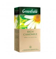 Ceai Greenfield Rich Camomile - 25 plicuri