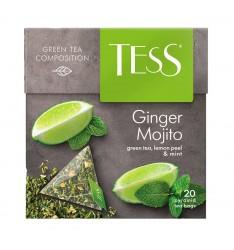 Ceai Tess Ginger Mojito - 20 plicuri