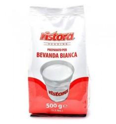 Pulbere alba Ristora eco pentru bauturi calde - 500 g