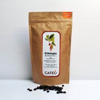 Ethiopia - Kochere Gr 1-cafea boabe proaspat prajita 250g