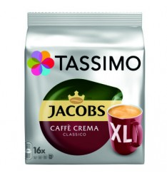 TASSIMO JACOBS CAFE CREMA XL 132.8G