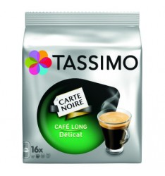 TASSIMO CARTE NOIRE CAFE LONG DELICAT 110.4G